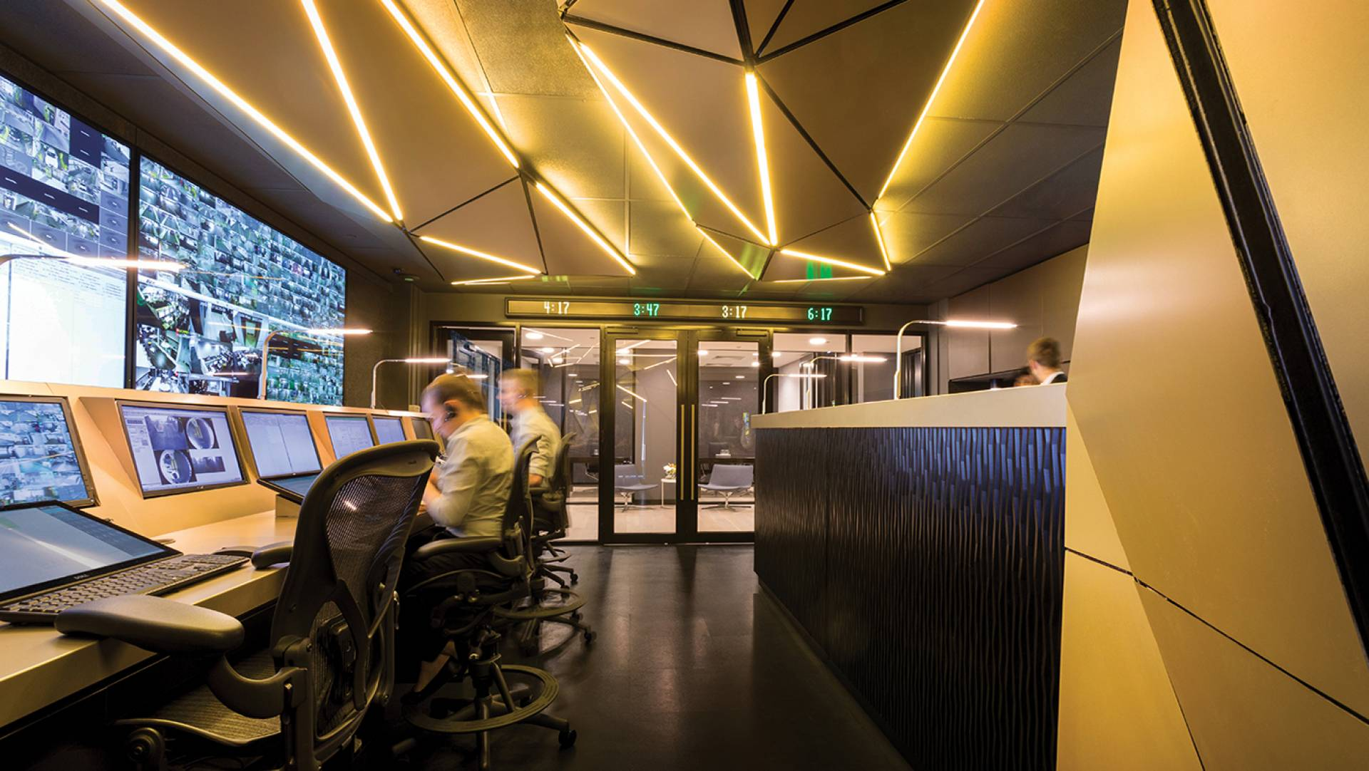 Office Fit Out & Control Room Design Melbourne - Technology Integration