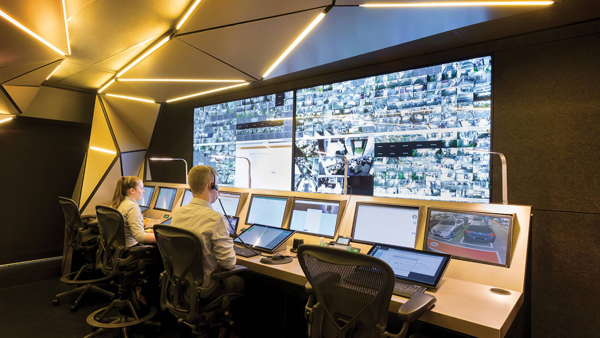 Office Fit Out & Control Room Design Melbourne - Technology Integration & Delivery