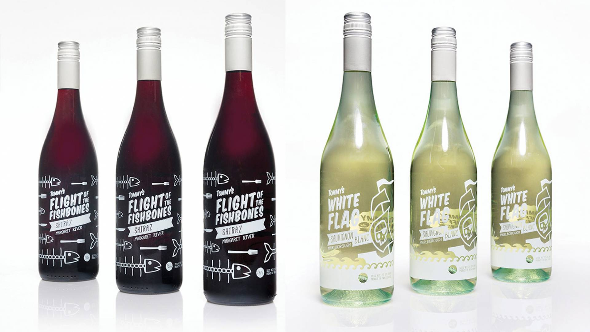 Wine Label Design Melbourne - Tommy Ruff