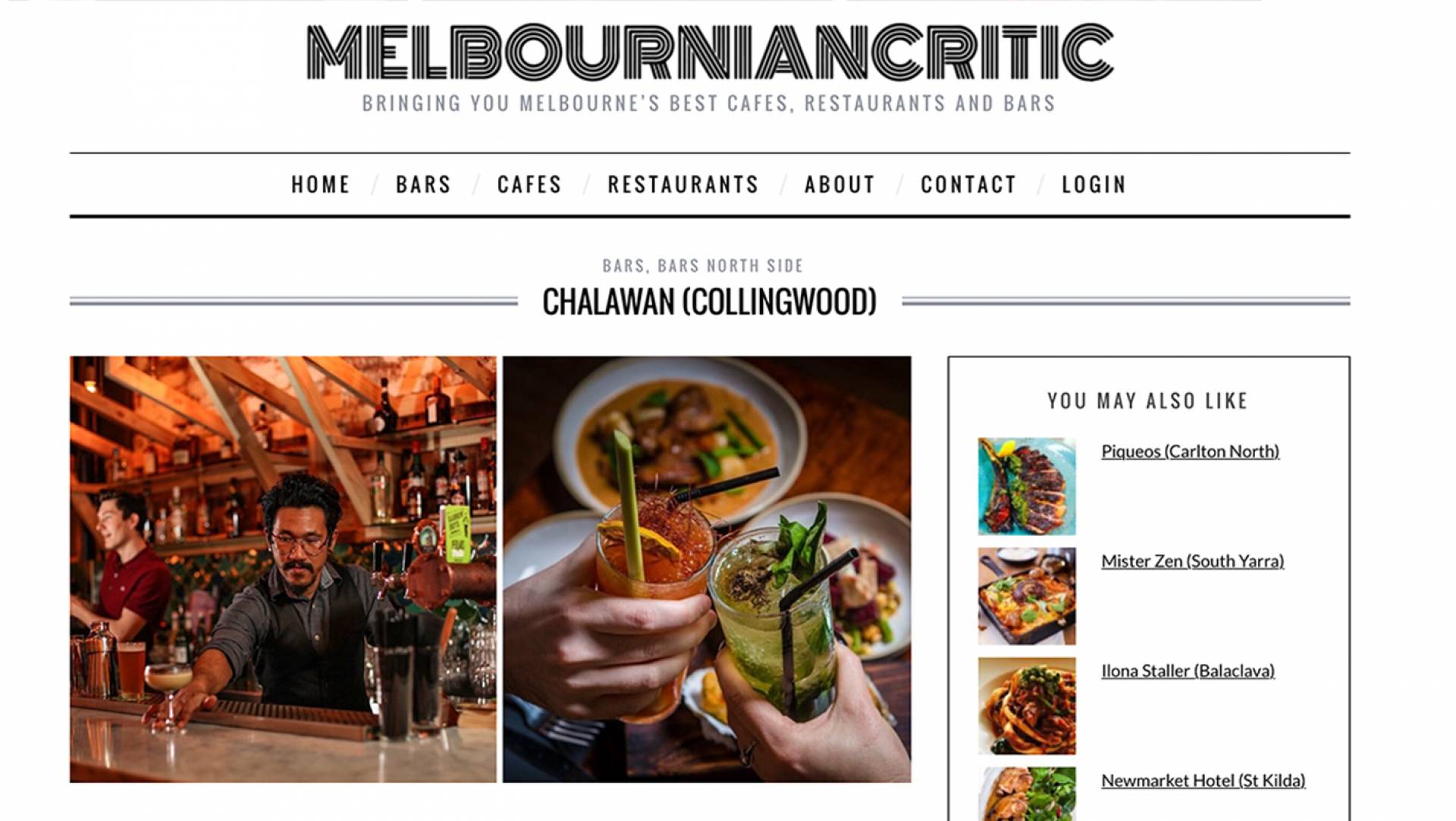 The Melbournian Critic highlights Chalawan