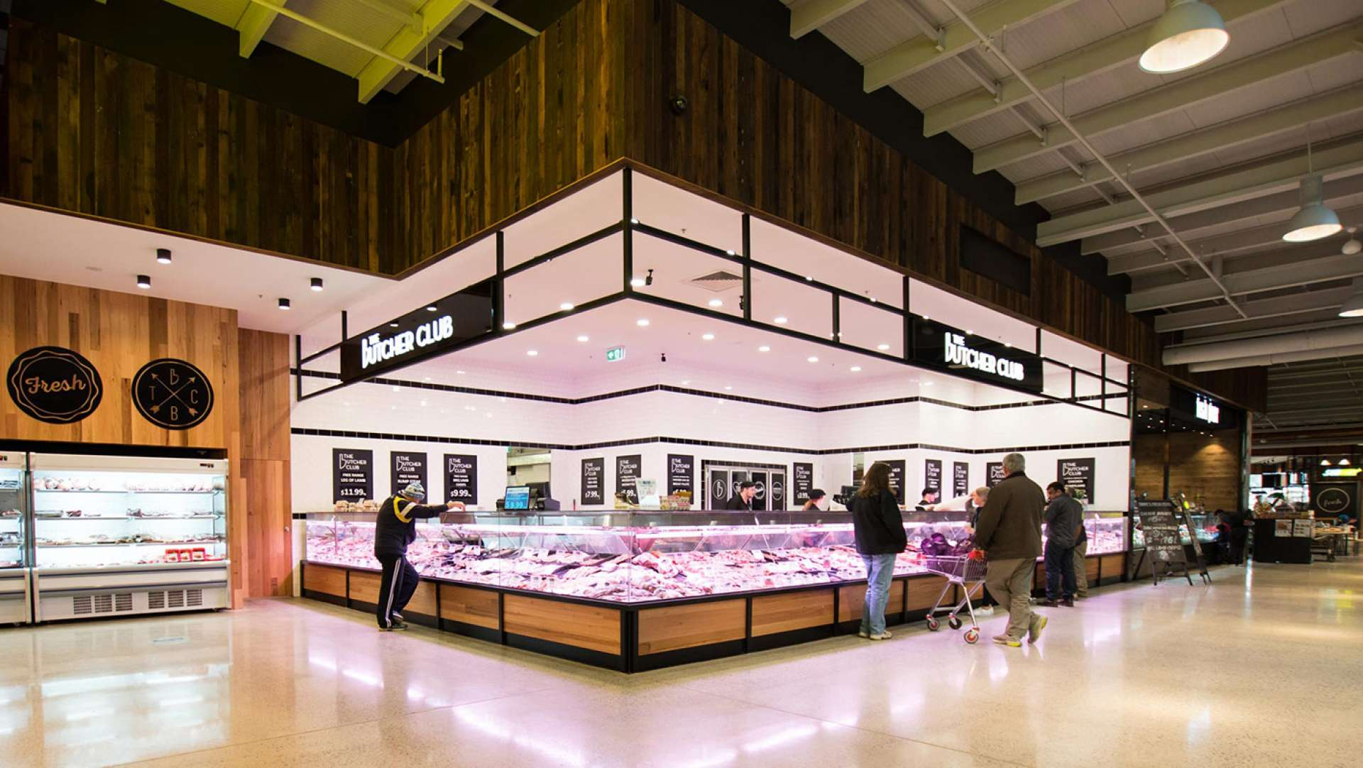 WORKING PROGRESS: The Butchers Club (A Butcher like no other) Store Roll Out Design by Studio Equator