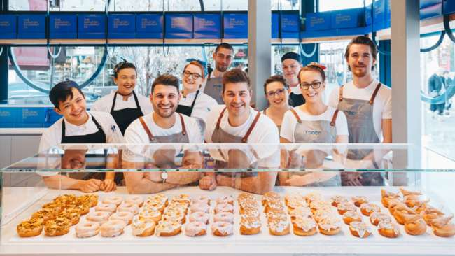TODCO (The Oakleigh Doughnut Co) Interior Design Gets published in Broadsheet