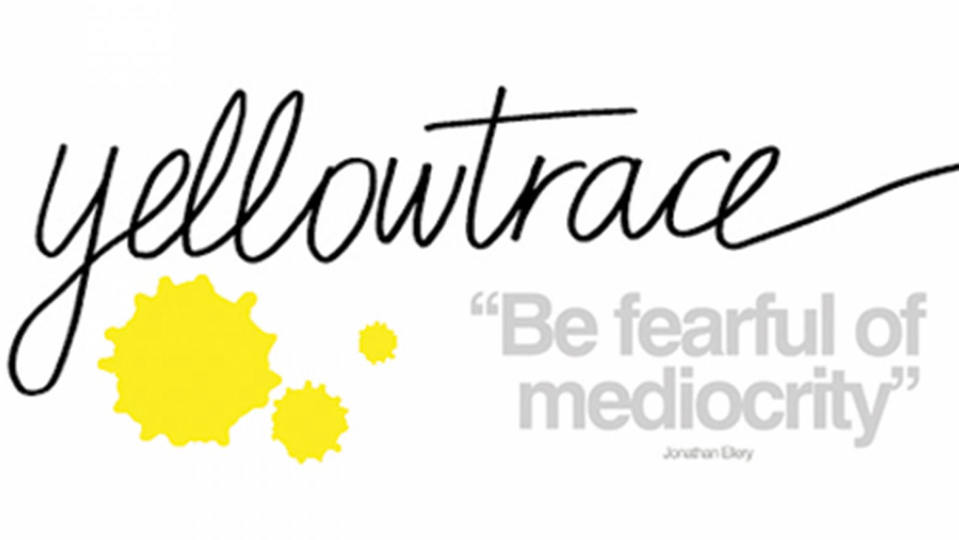 "Studio Equator work done for GLUX is showcased in popular local blog ""Yellowtrace"""