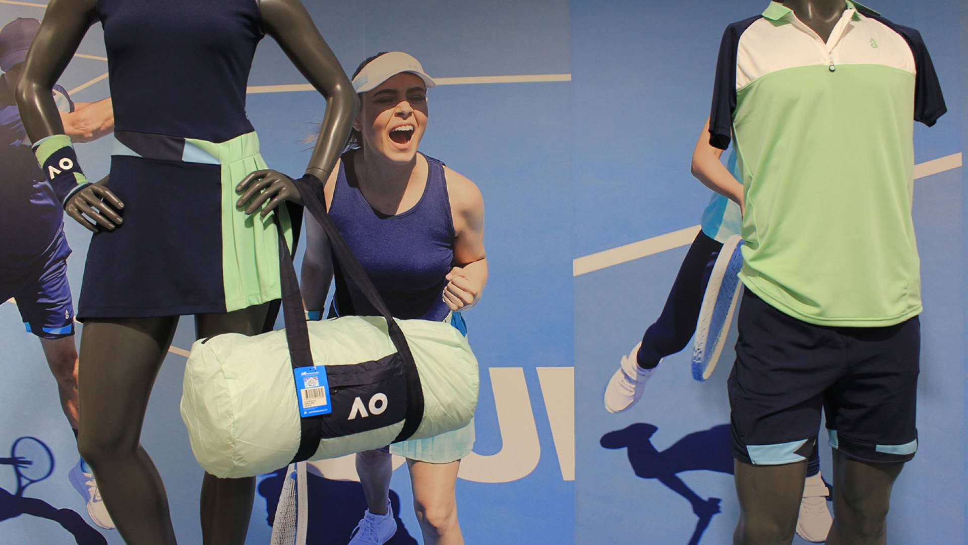Australian Open 2020-Fashion Range Images by Studio Equator