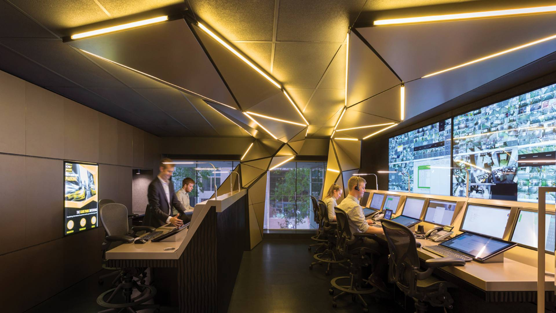 Office Fit Out & Control Room Design Melbourne - Lighting Installation