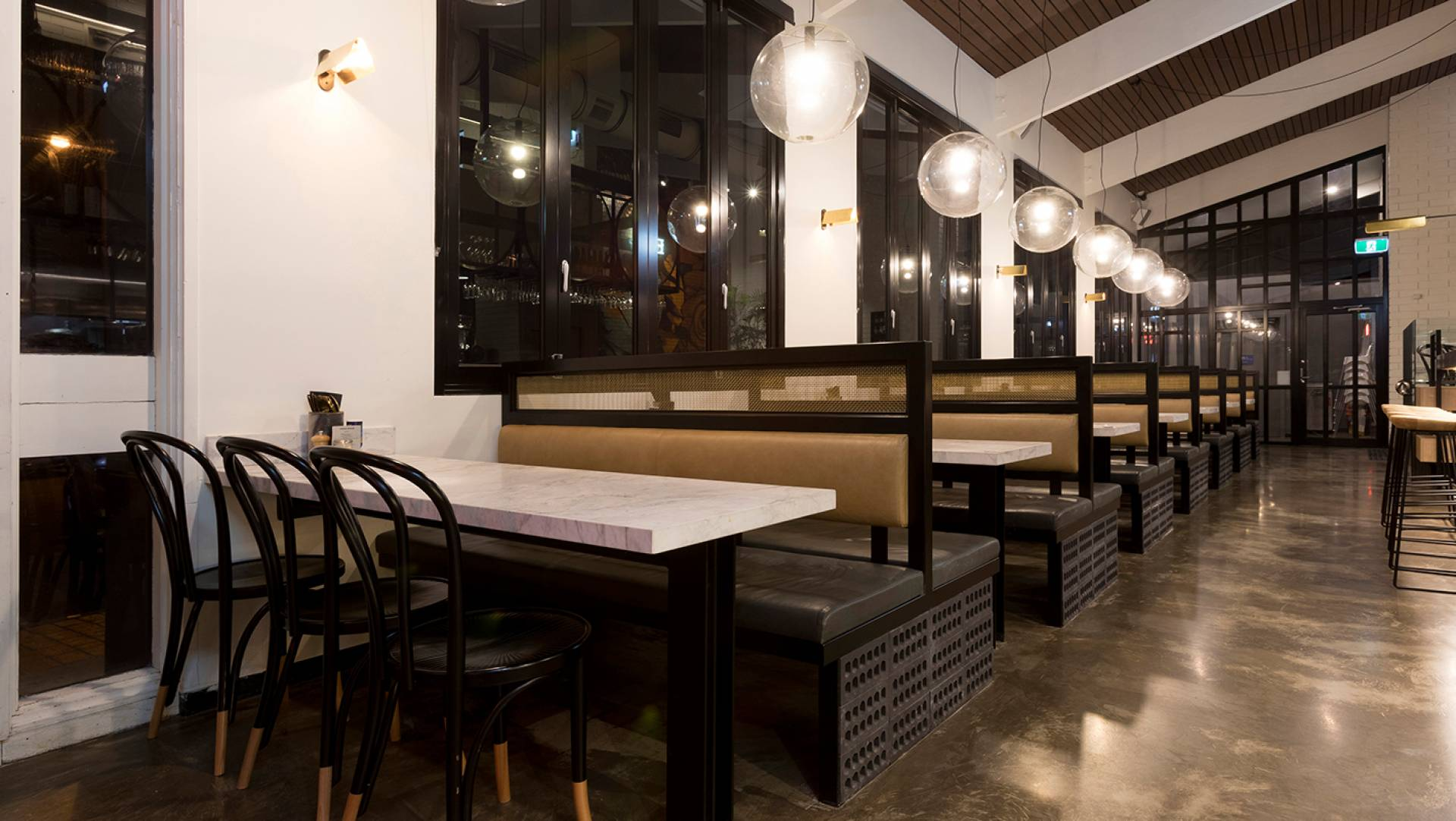 Cafe Design Melbourne - Riddik Cafe Bar Restaurant Designer