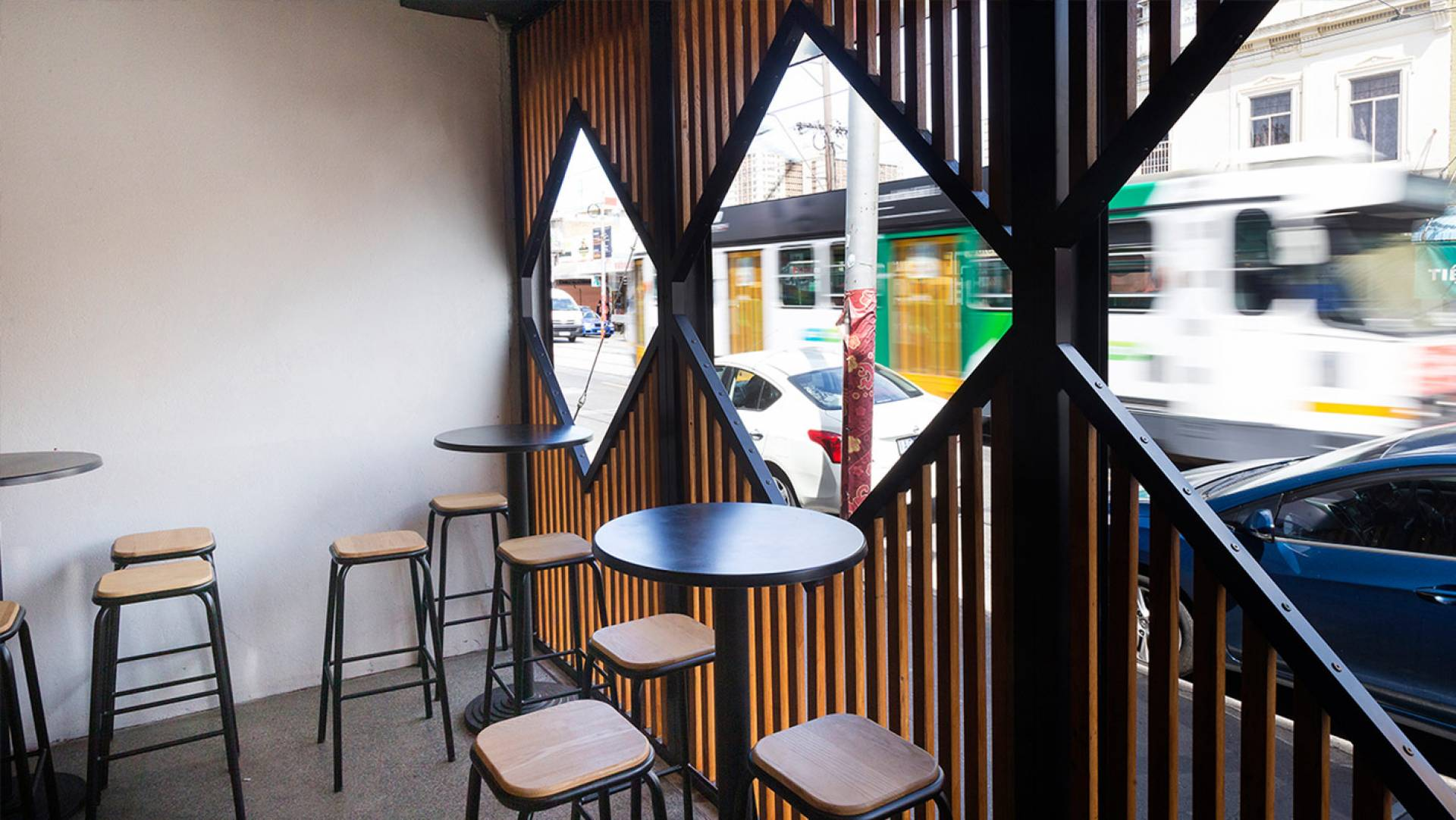 Restaurant Design Melbourne - On It Burger