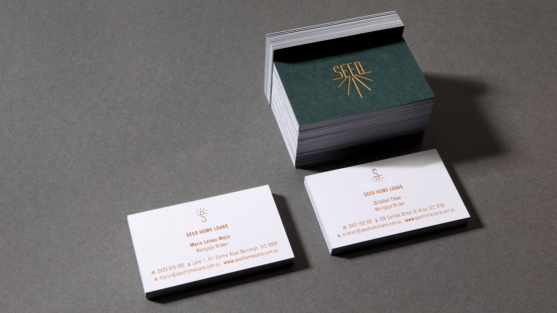 Visual Identity Design Melbourne-Business Card Design Melbourne