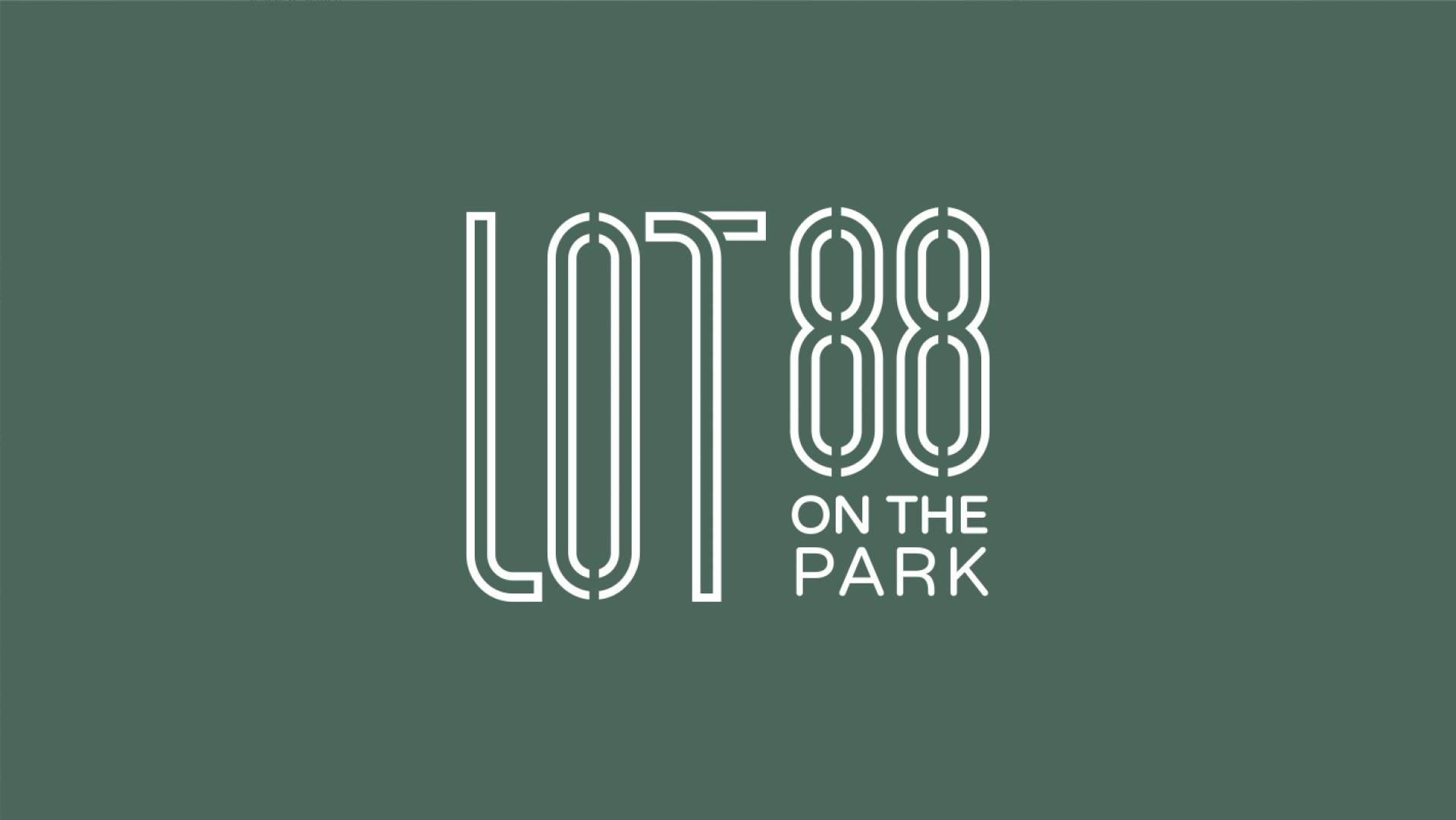 Lot88 on the park Visual Identity Designers