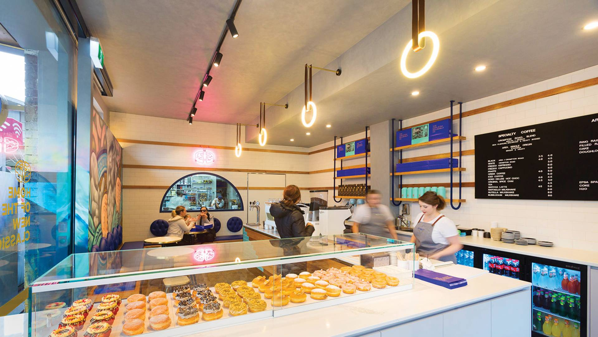 Doughnut & Cafe Design Melbourne-Oakleigh Doughnut Co TODCO Designer: Doughnut Display