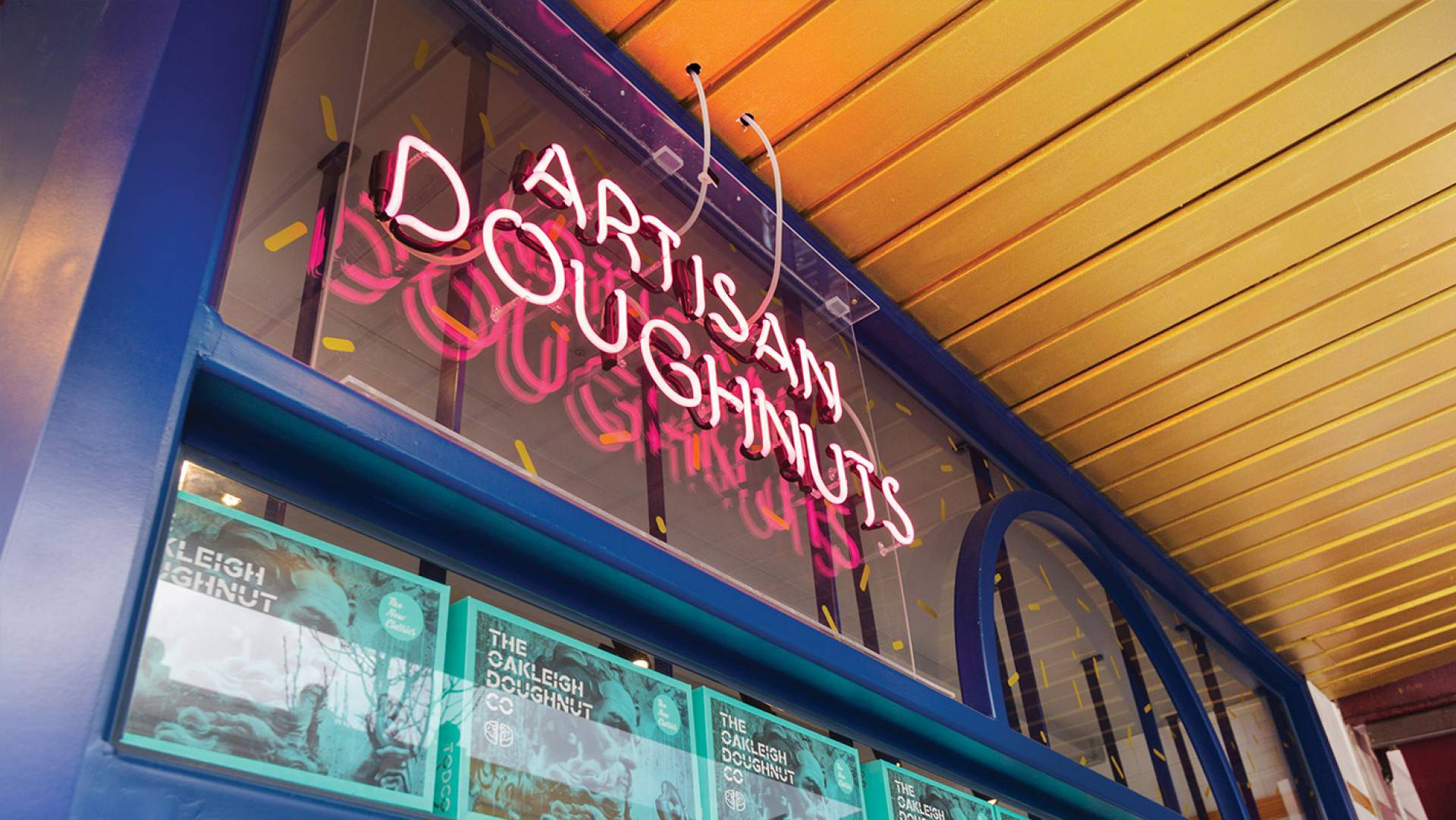 Doughnut & Cafe Design Melbourne-Oakleigh Doughnut Co TODCO Designer: Exposed Neon