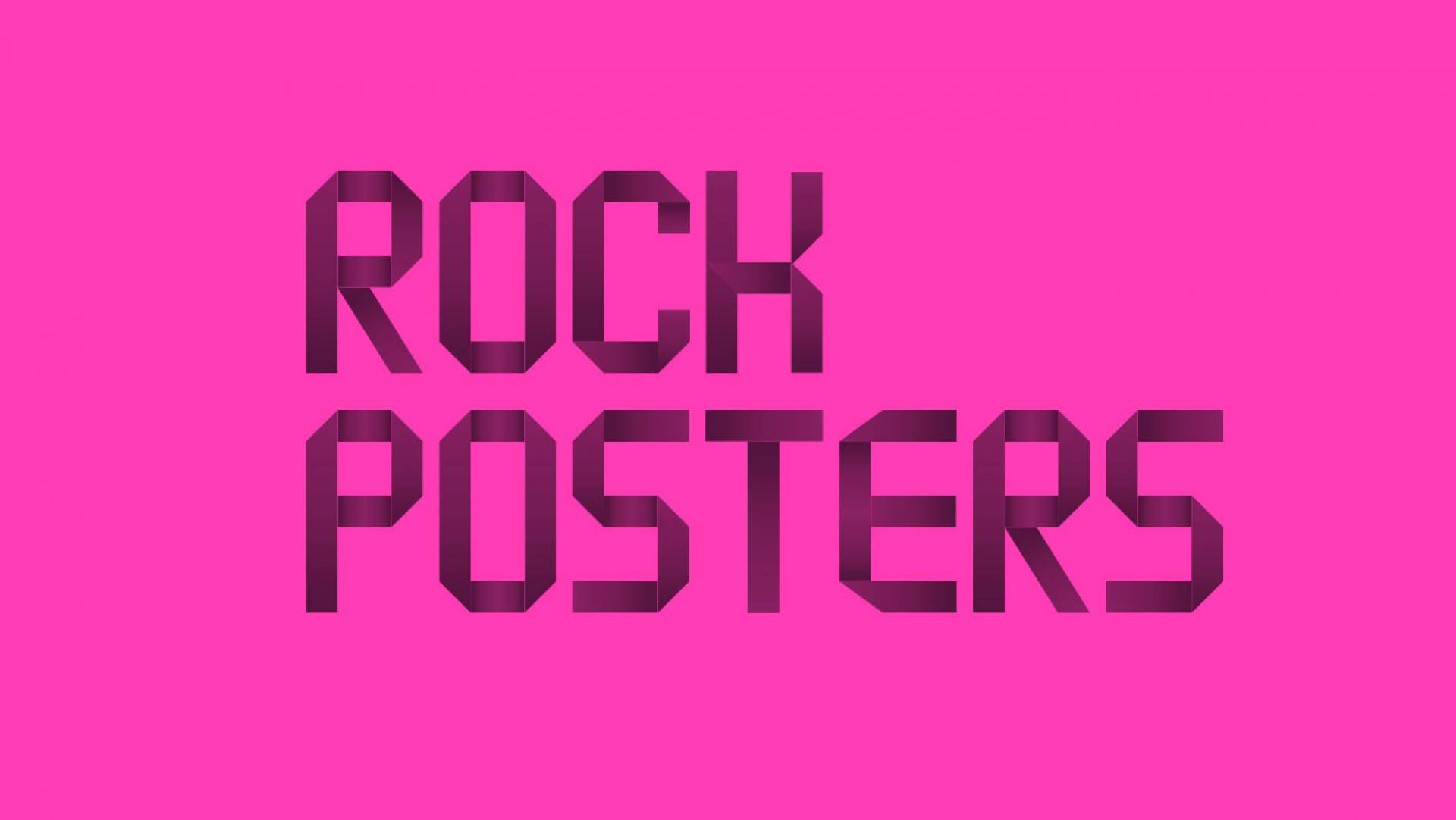 Rock Posters Logo Design by Studio Equator