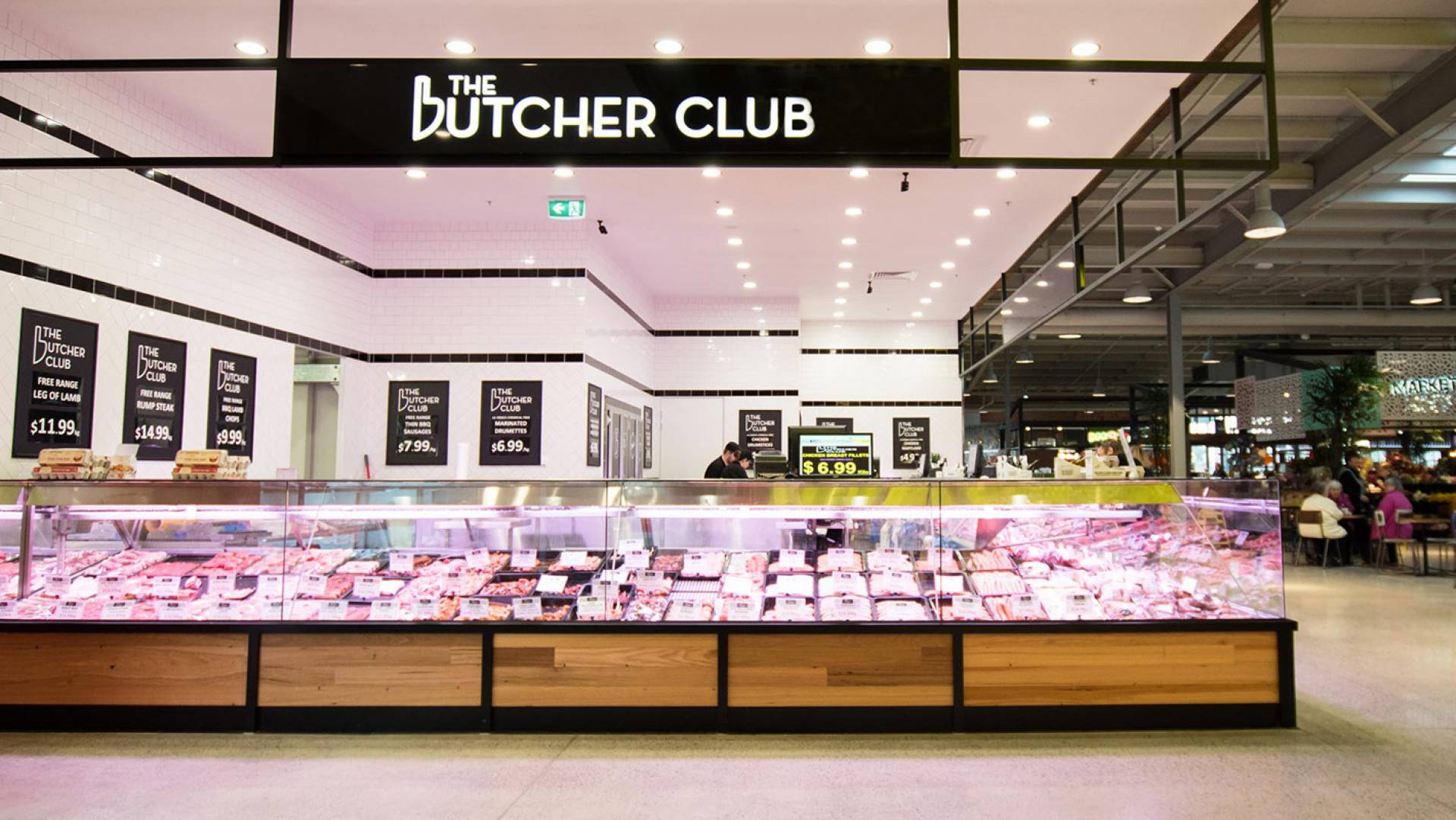Butcher Store Designer-The Butchers Club Melbourne