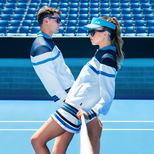 Australian Open Fashion Photoshoot - Final Image