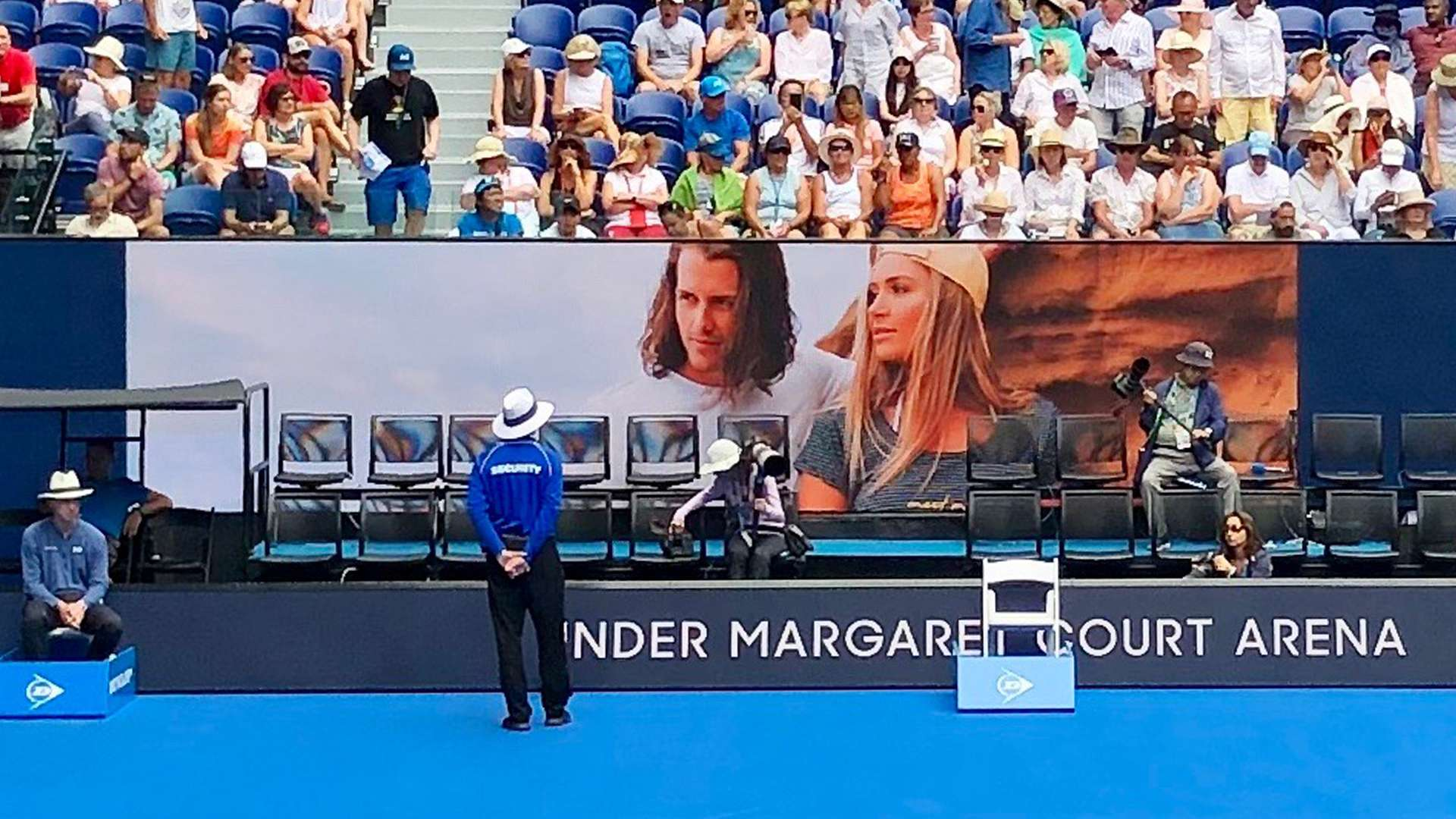 Australian Open 2019 Fashion Images Showcased Centre Court
