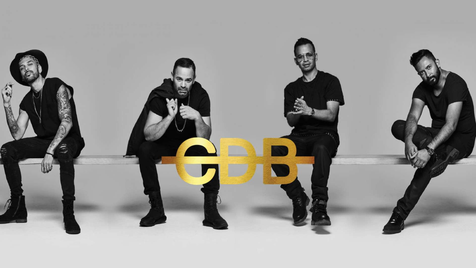 Australia's Best R&B mega group CDB new album showcases new logo by Studio Equator
