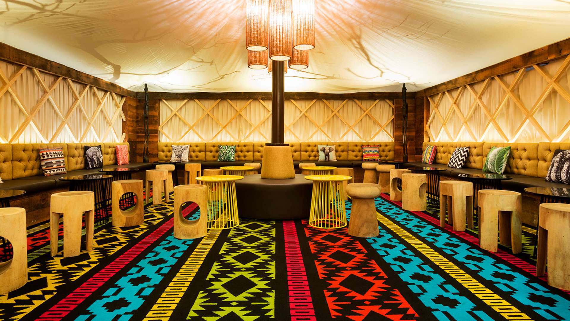 Glamp Bar Interiors