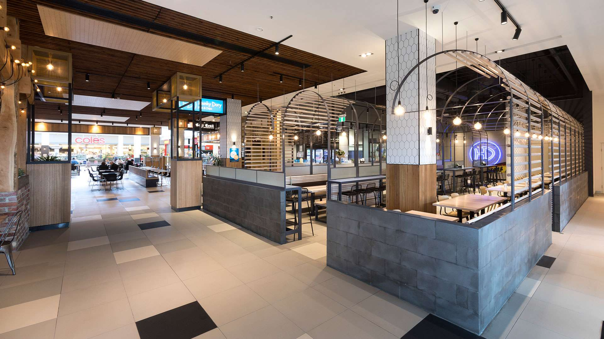 Burwood One Shopping Centre Restaurant Precinct