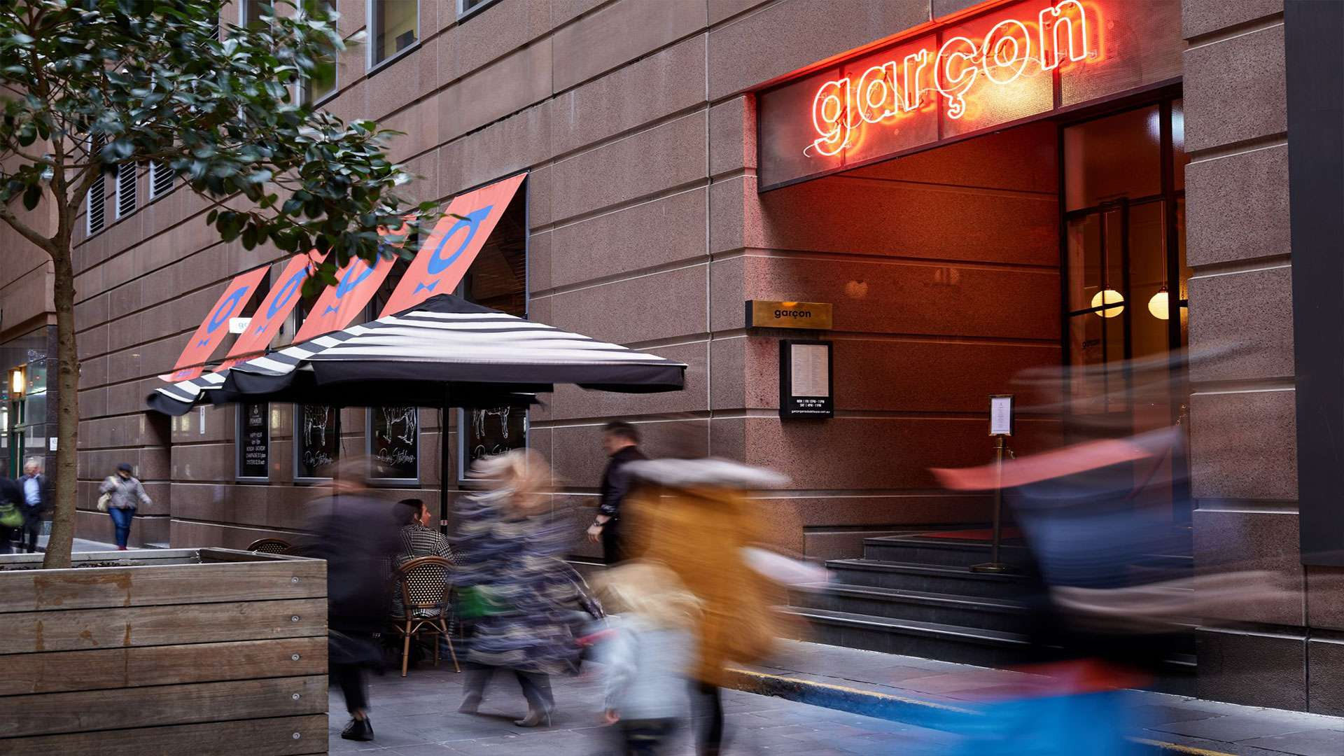 "The Paris end of Collins Street just got a little more cooler ""Garçon Paris Steakhouse"" is now open"