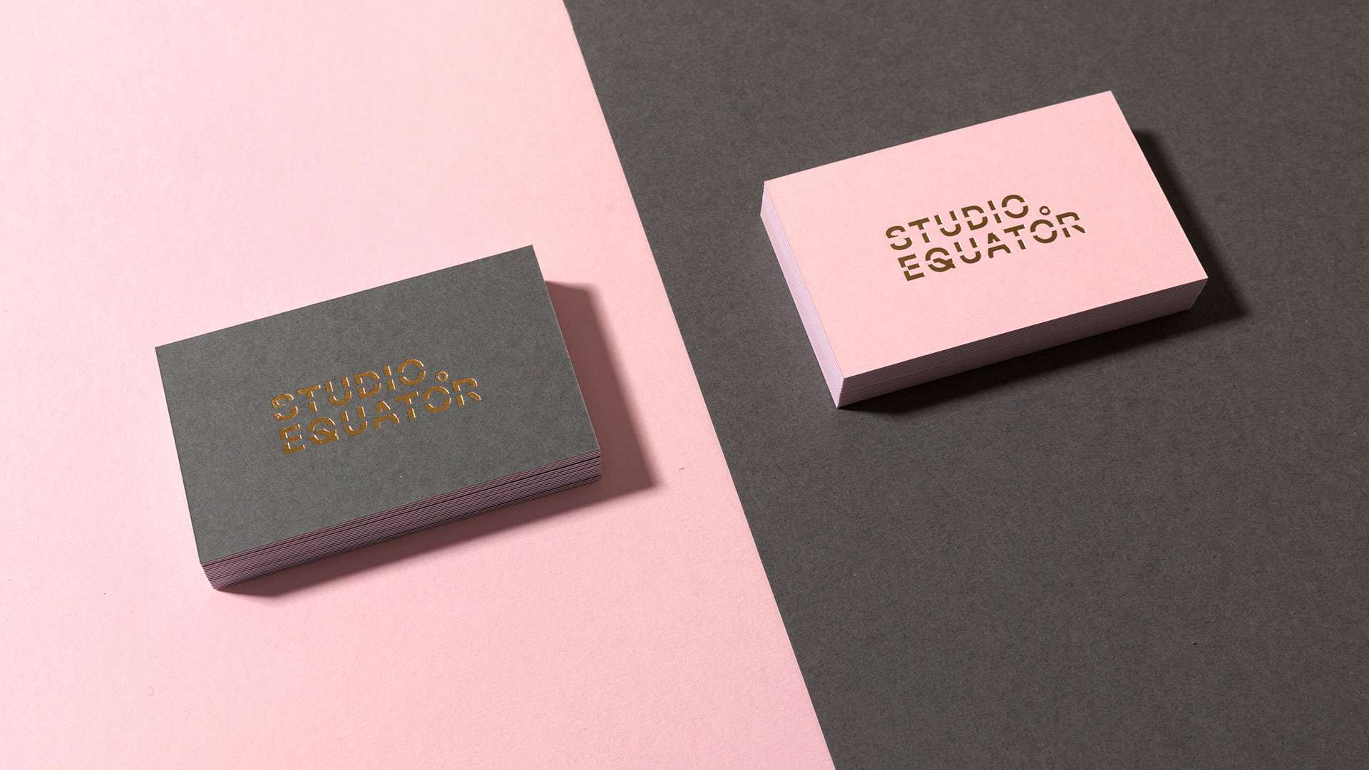 Studio Equator's New Visual Identity: Business Stationery