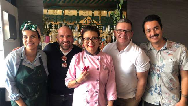 Studio Equator's family designed & owned Mornington Peninsula Venue: La Onda Latin Mex gets Love from Master Chef Judges