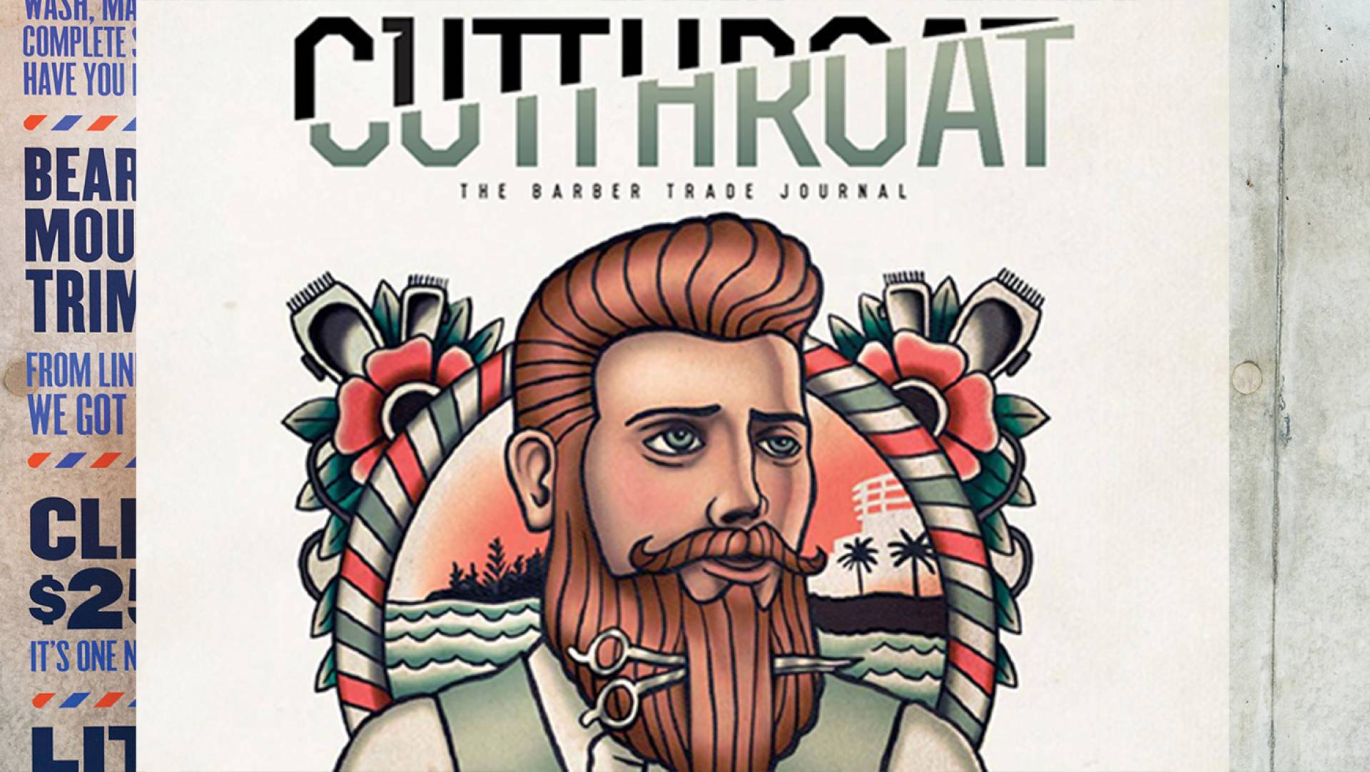 DAPPER GENTS BARBERSHOP GETS SHOWCASED IN CUTTHROAT BARBER JOURNAL