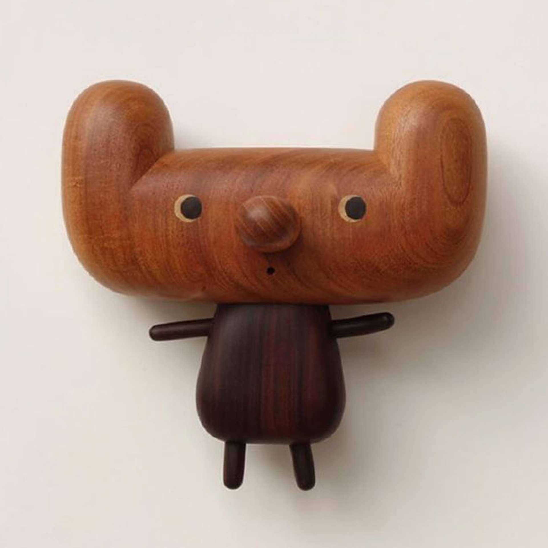 Wooden Quirky Cartoon & Vases by Yen Jui-Lin