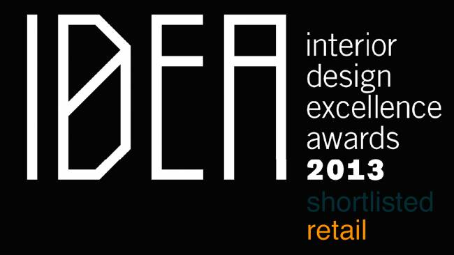 Studio Equator Finalist in The Interior Design Excellence Awards IDEA 2013-GLUX Showroom