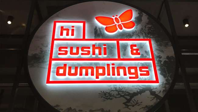 Studio Equator Latest Fit Outs for Geelong Hi Sushi & Dumplings